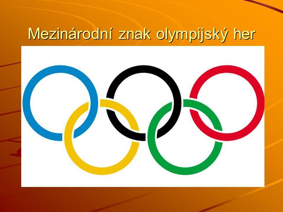 Mezinárodní znak olympijský her