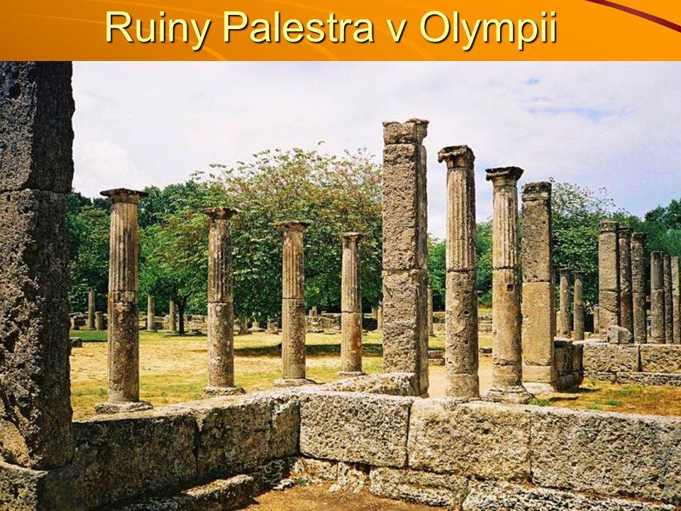Ruiny Palestra v Olympii