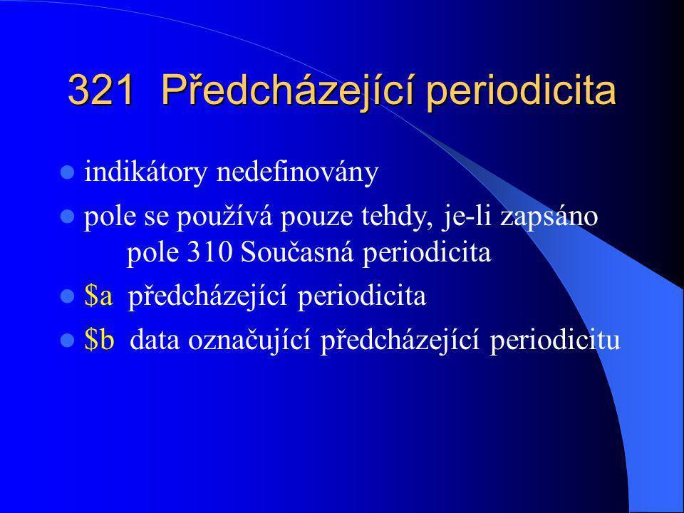 362 Údaje o číslování 1.