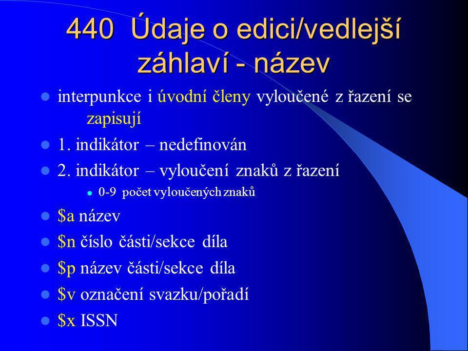 490 Údaje o edici 1.