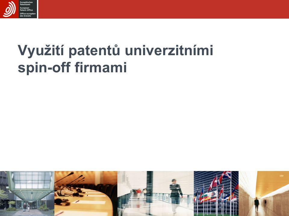 Využití patentů univerzitními spin-off firmami