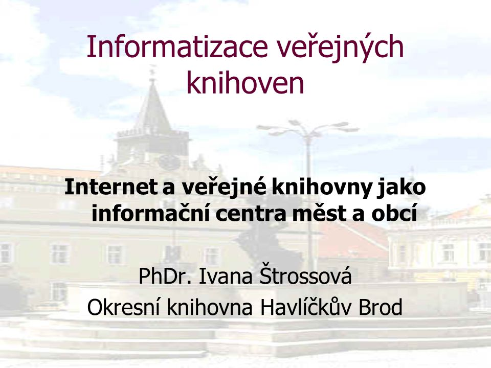 12/21 Využití Internetu ve veřejných knihovnách