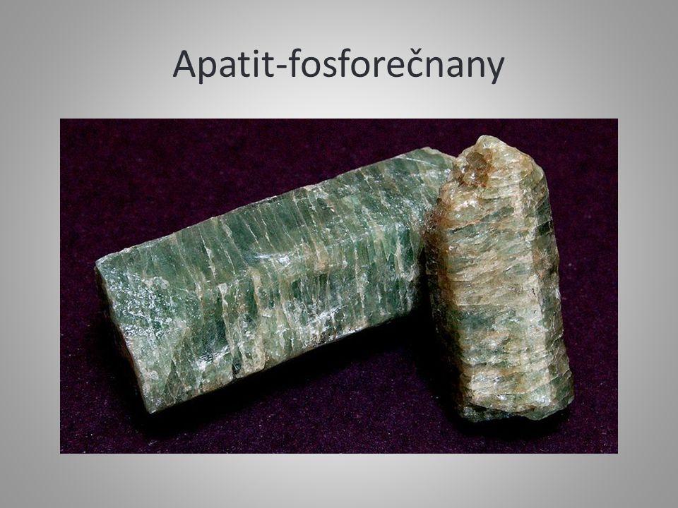 Apatit-fosforečnany
