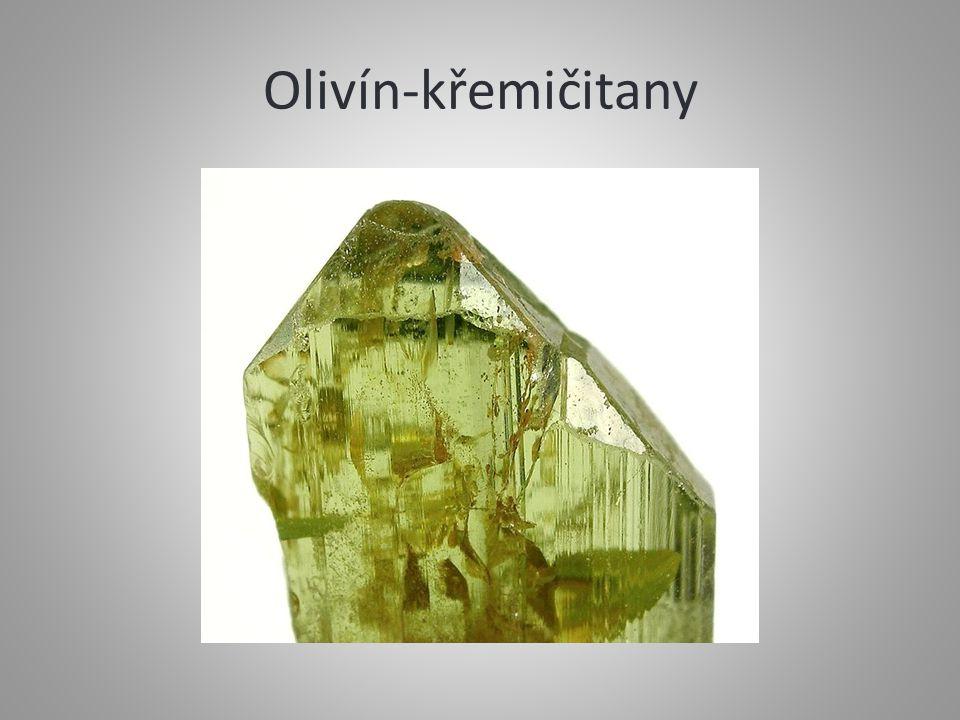 Olivín-křemičitany