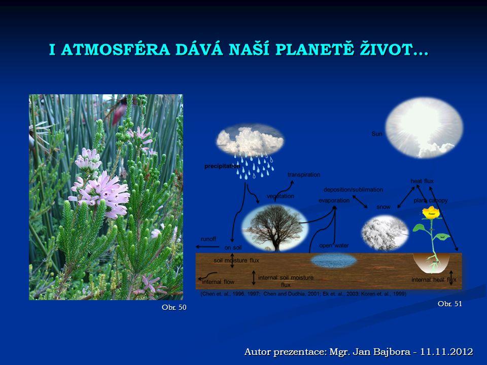Obr.50 Autor prezentace: Mgr. Jan Bajbora - 11.11.2012 Obr.
