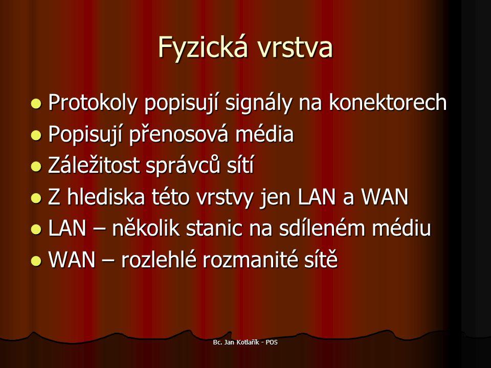 Bc. Jan Kotlařík - POS Gigabit