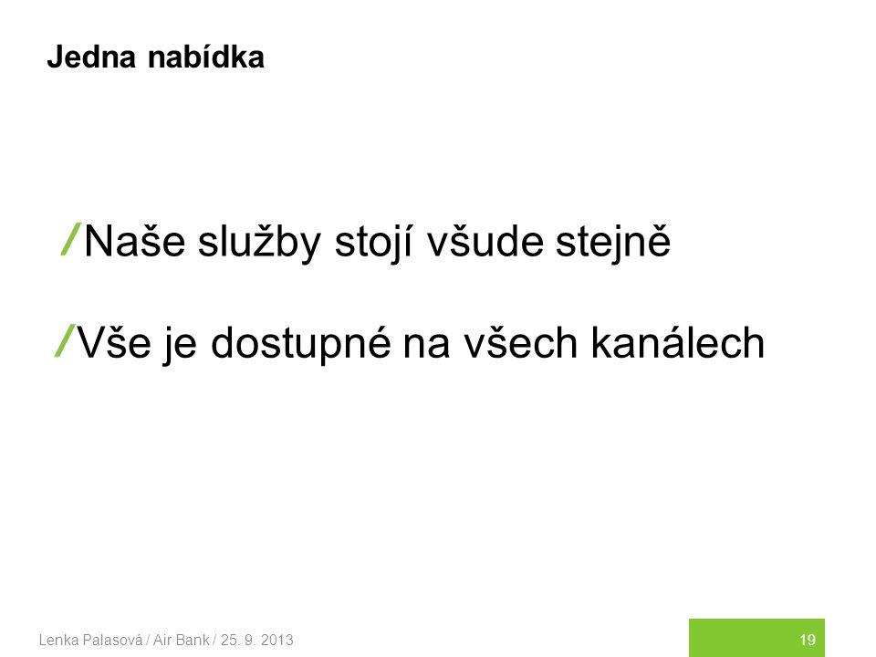 19Lenka Palasová / Air Bank / 25.9.