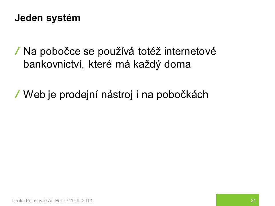 21Lenka Palasová / Air Bank / 25.9.