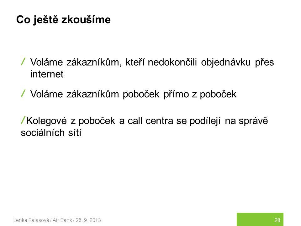 28Lenka Palasová / Air Bank / 25.9.