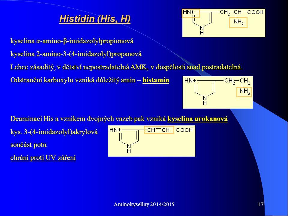 Aminokyseliny 2014/201518 - kys.α,ε-diaminokapronová - kys.