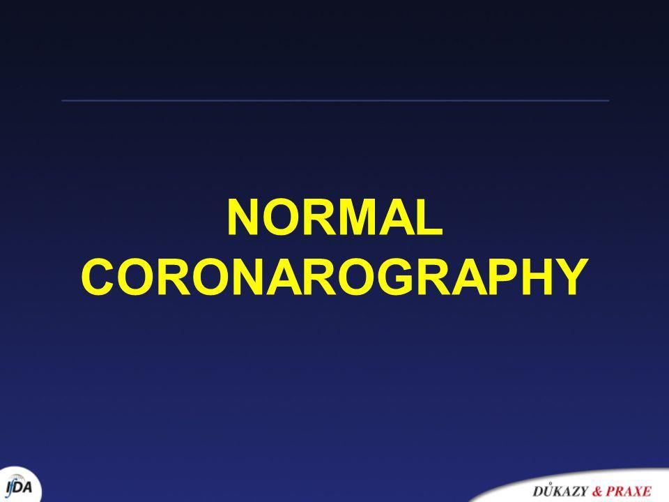 NORMAL CORONAROGRAPHY