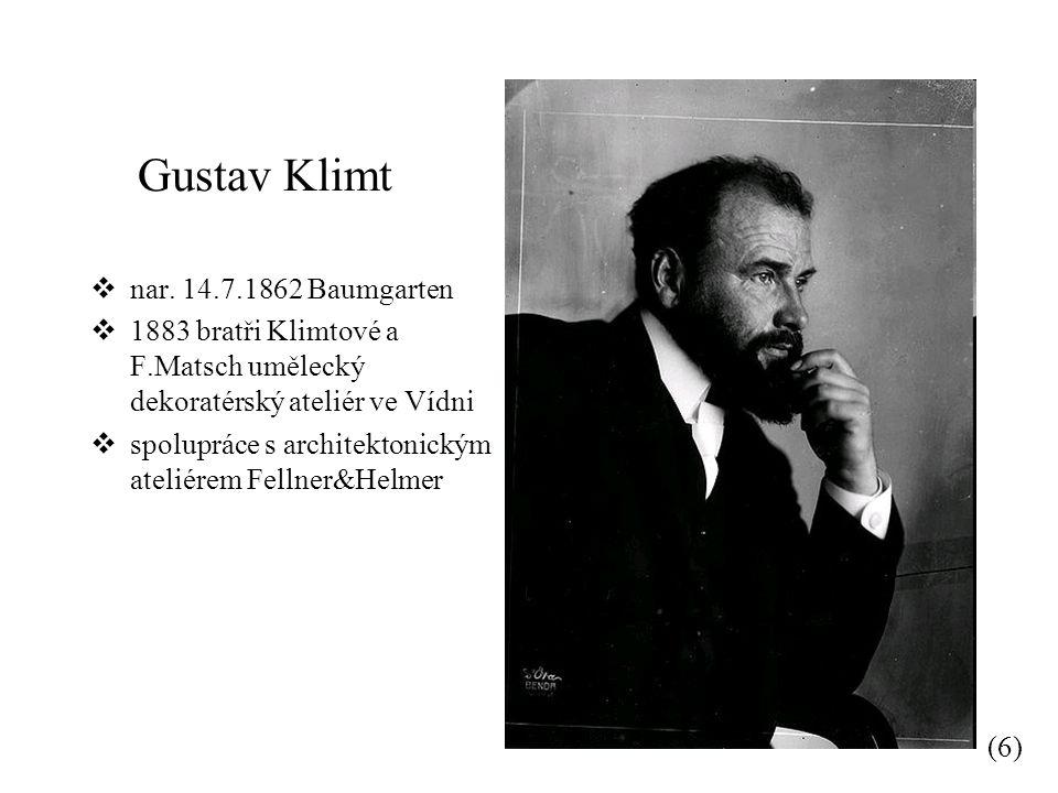 Gustav Klimt  nar.
