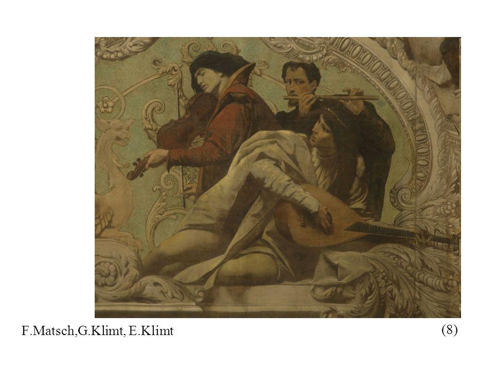 F.Matsch,G.Klimt, E.Klimt (8)