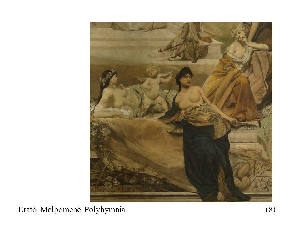 Erató, Melpomené, Polyhymnia(8)