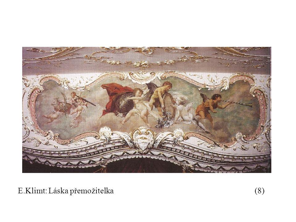 E.Klimt: Láska přemožitelka(8)