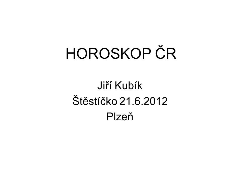 HOROSKOP ČR Jiří Kubík Štěstíčko 21.6.2012 Plzeň