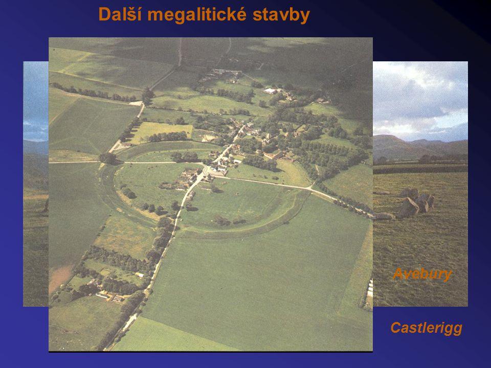 Další megalitické stavby Castlerigg Avebury