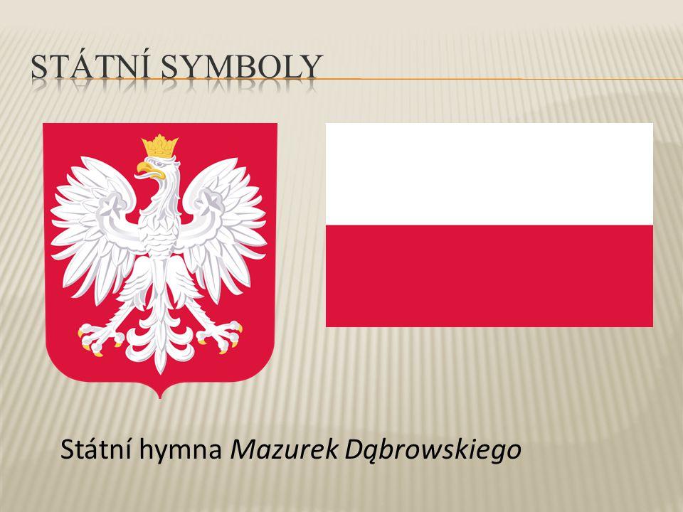 Státní hymna Mazurek Dąbrowskiego