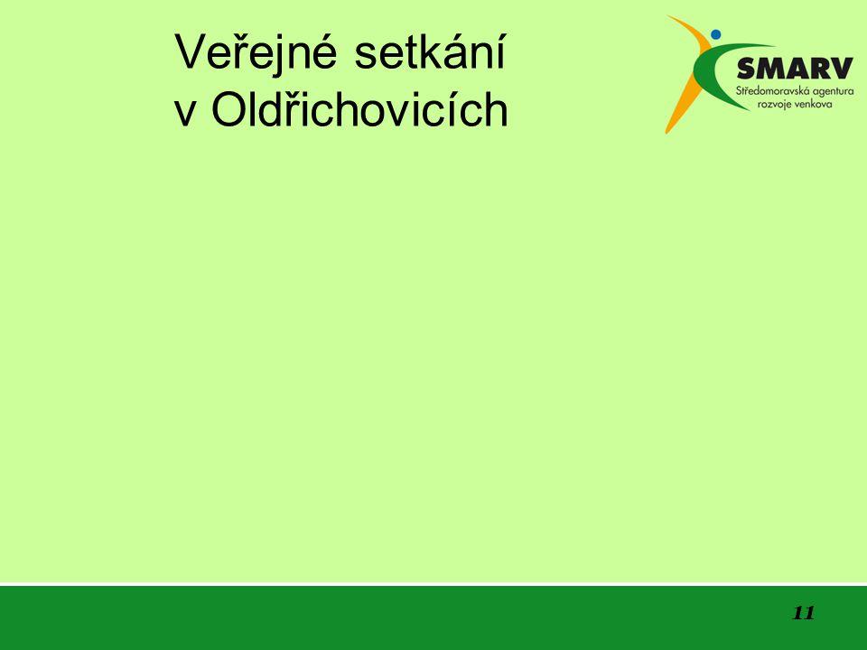 11 Veřejné setkání v Oldřichovicích