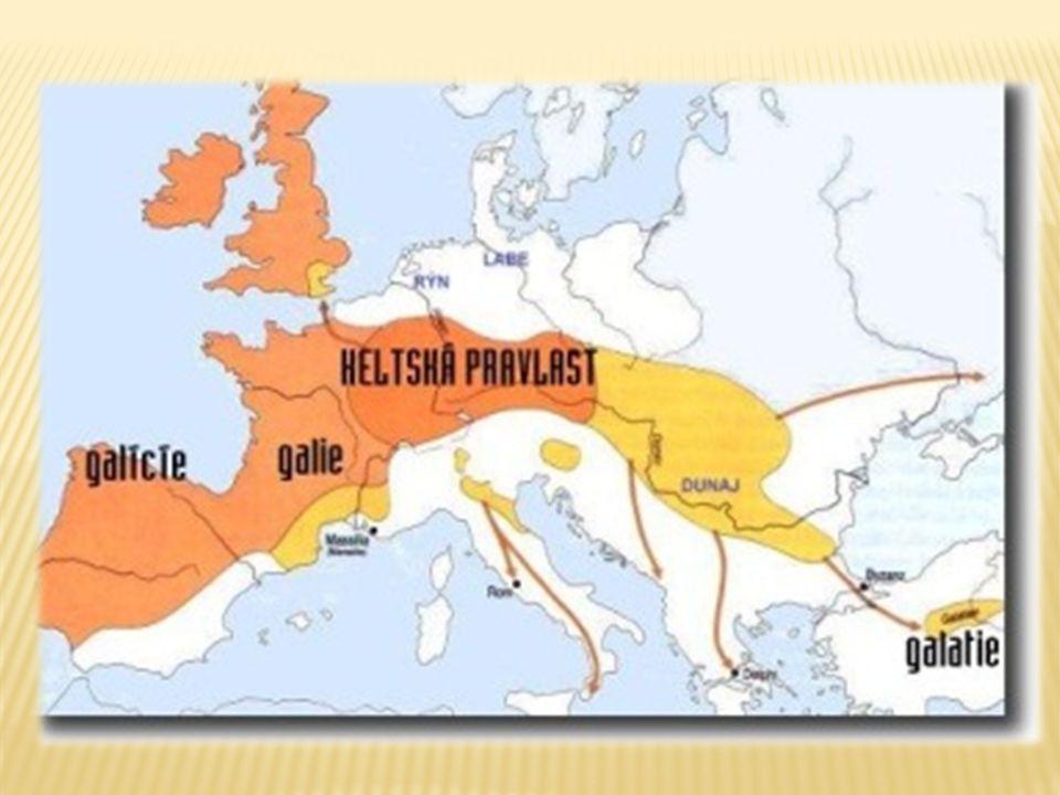  400let př.n.l.  Keltové si stavěli takzvaná oppida - opevněná města oppida