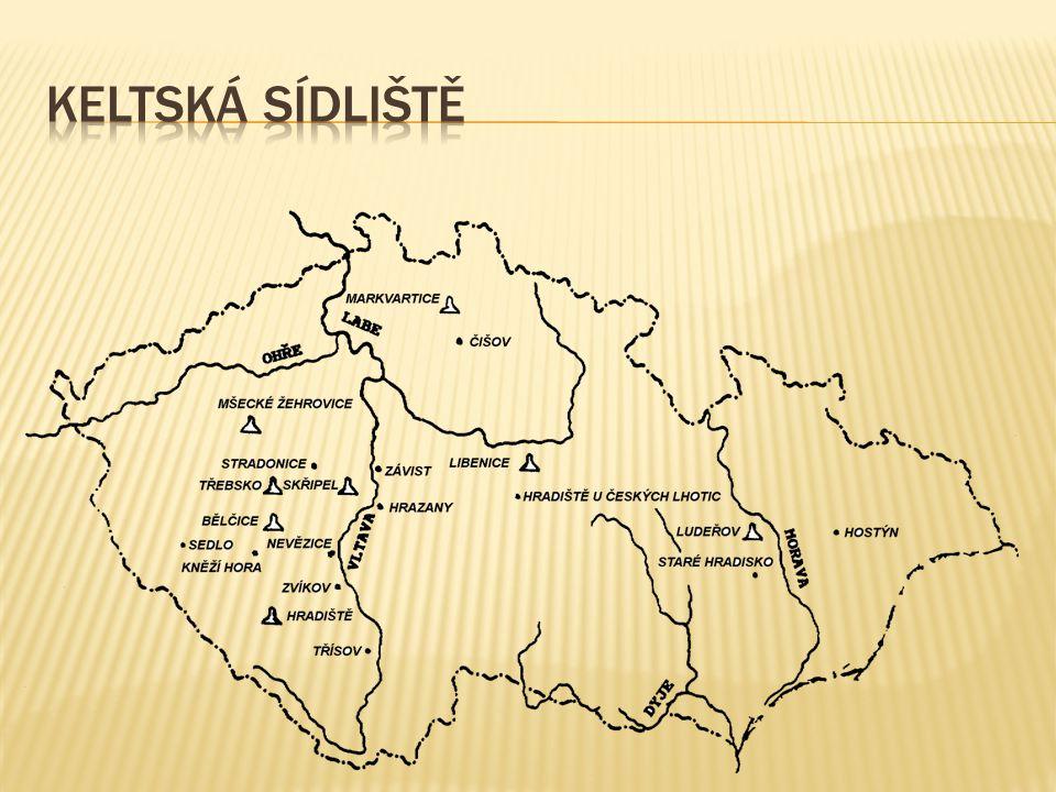  Keltský kmen – Bójové  Labe (Albis - bílá řeka), Vltava (Vultava - divoká řeka), Ohře (Agara - řeka, která má rychlý tok), Jizera (Isara - bystrá ř