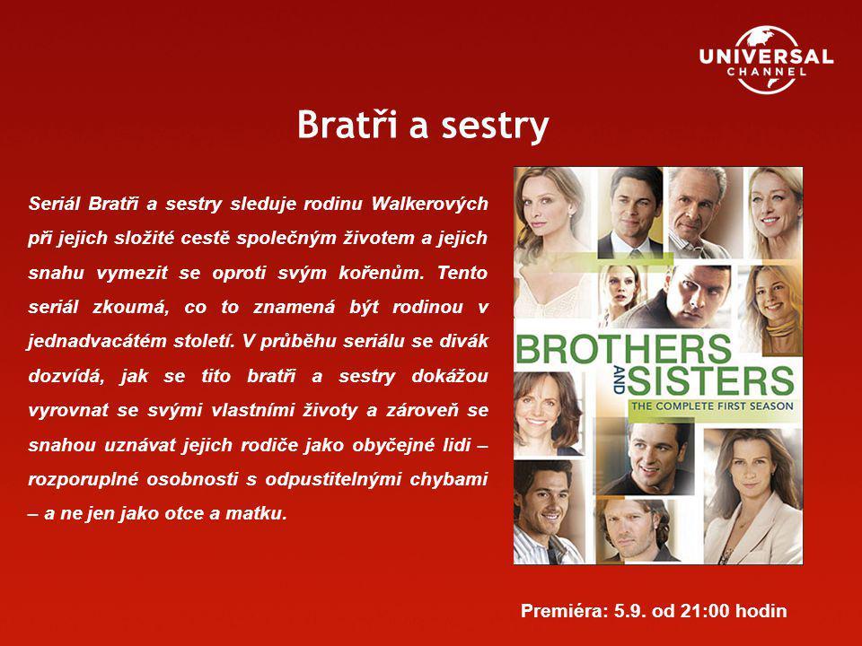 Bratři a sestry Seriál Bratři a sestry sleduje rodinu Walkerových při jejich složité cestě společným životem a jejich snahu vymezit se oproti svým kořenům.