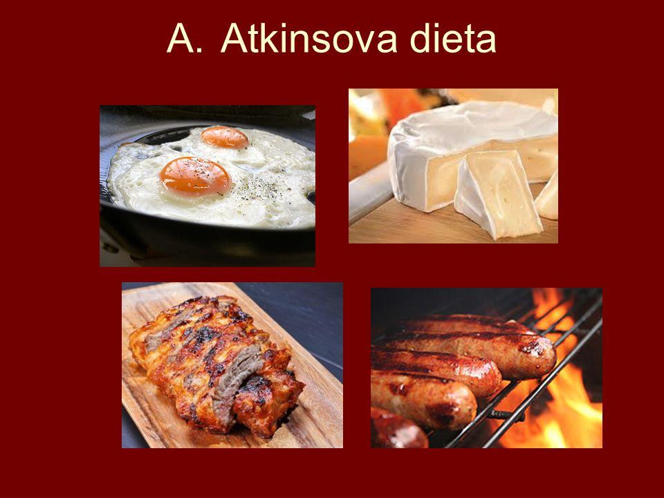 A.Atkinsova dieta