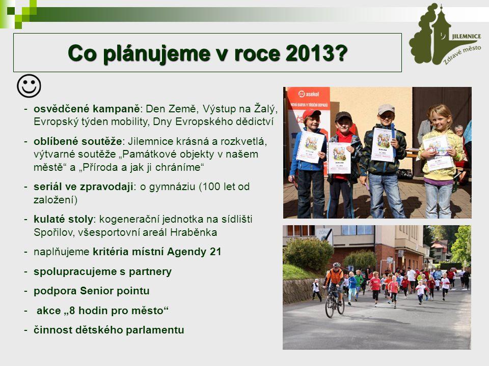 Co plánujeme v roce 2013.