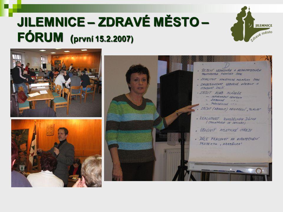 JILEMNICE – ZDRAVÉ MĚSTO – FÓRUM ( první 15.2.2007)