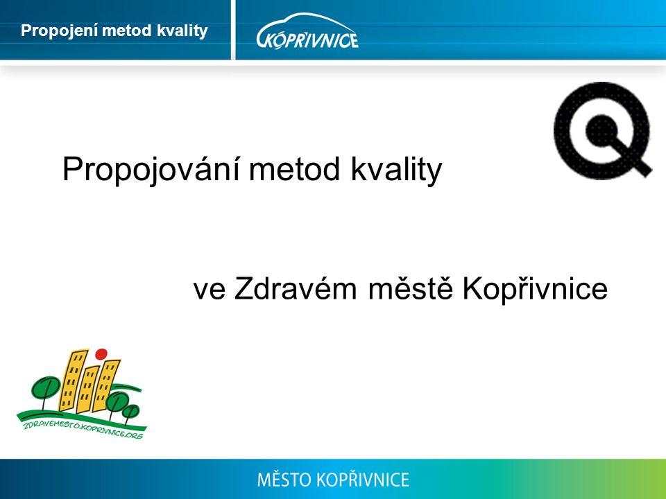 Propojování metod kvality ve Zdravém městě Kopřivnice Propojení metod kvality