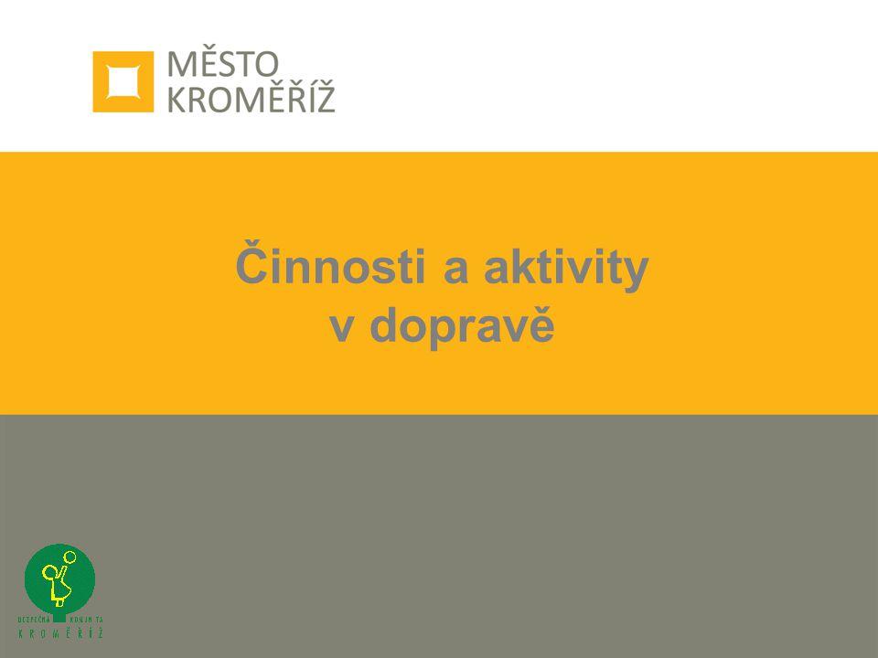 Činnosti a aktivity v dopravě
