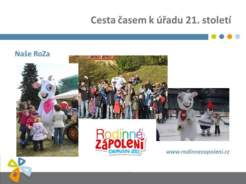 Cesta časem k úřadu 21. století Naše RoZa www.rodinnezapoleni.cz