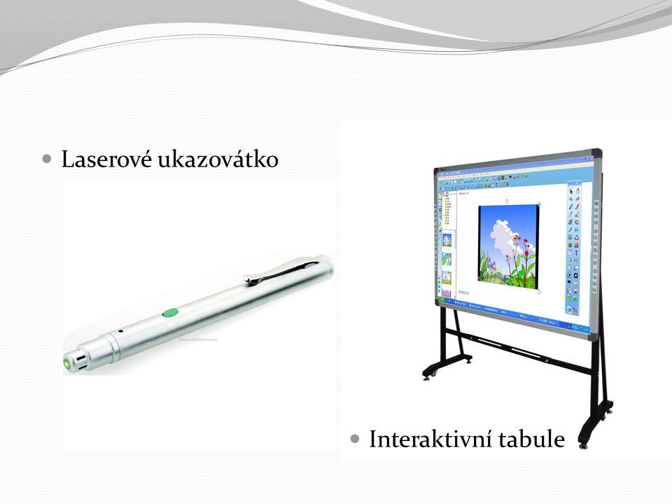 Laserové ukazovátko Interaktivní tabule