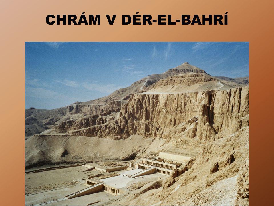 CHRÁM V DÉR-EL-BAHRÍ