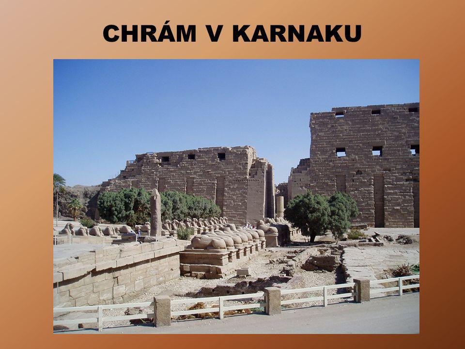 OTÁZKY A ÚKOLY Periodizuj dějiny starověkého Egypta.