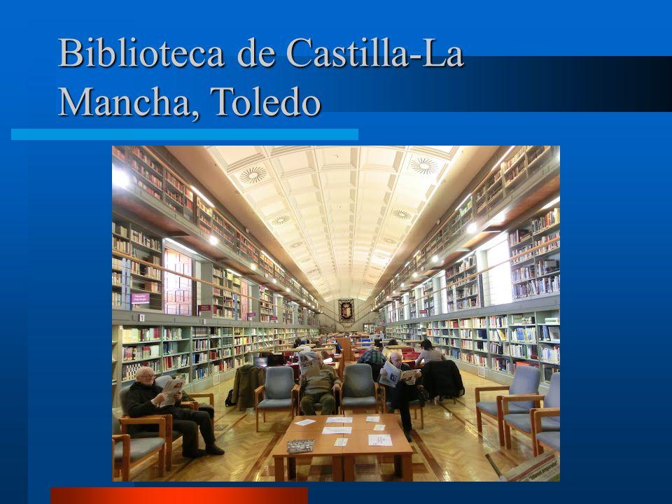 Biblioteca de Castilla-La Mancha, Toledo Biblioteca de Castilla-La Mancha, Toledo