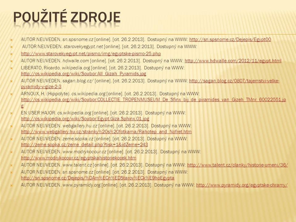  AUTOR NEUVEDEN. sn.spsnome.cz [online]. [cit. 26.2.2013].