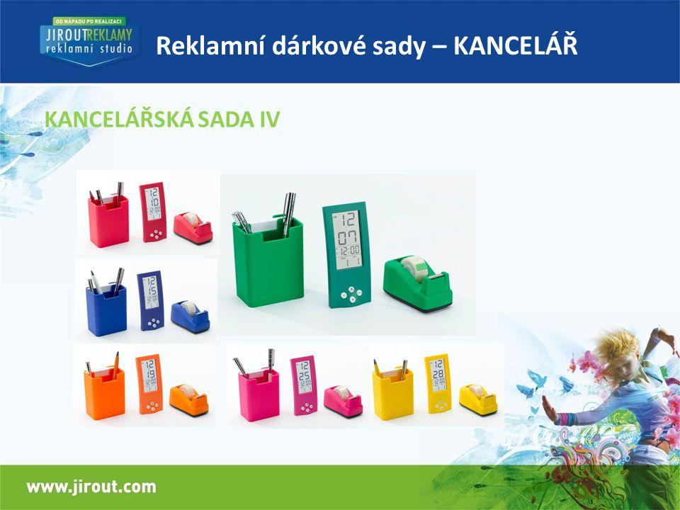 Reklamní dárkové sady – KANCELÁŘ KANCELÁŘSKÁ SADA IV