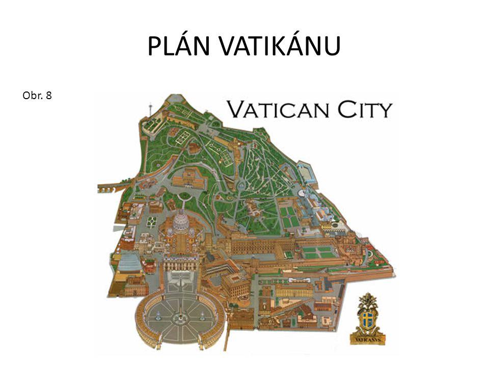 PLÁN VATIKÁNU Obr. 8
