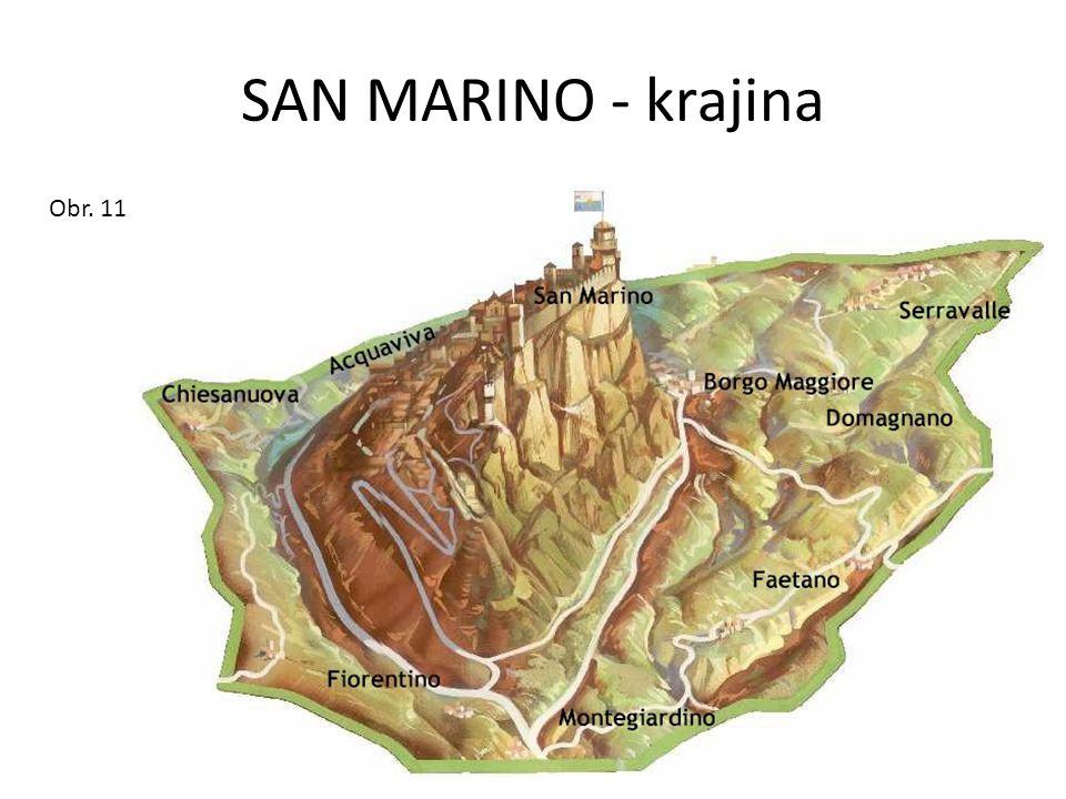 SAN MARINO - krajina Obr. 11