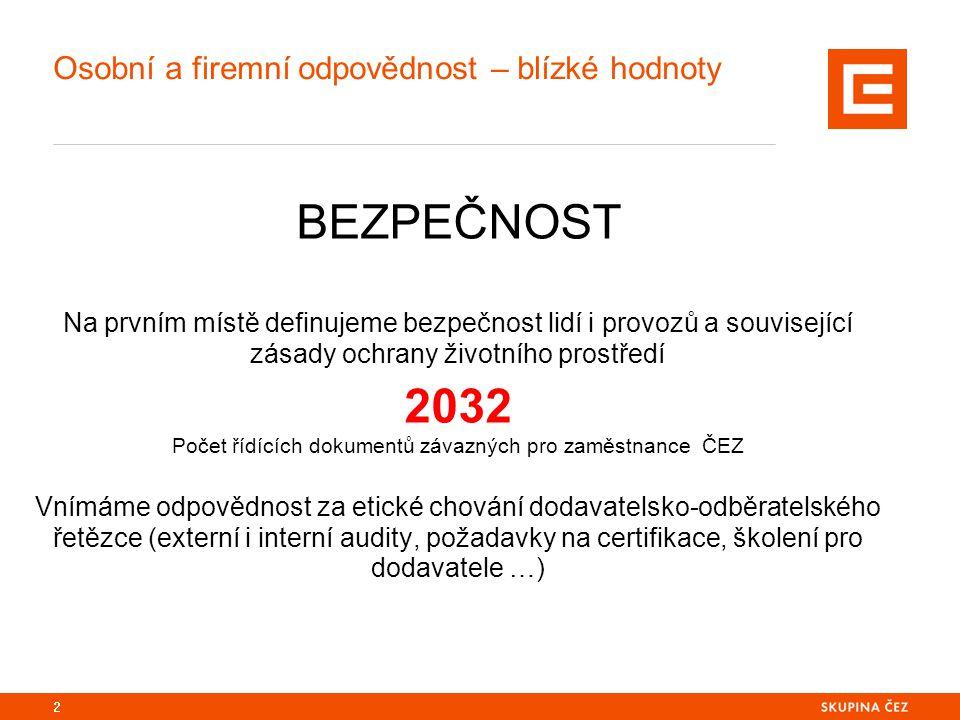 3 Společnosti Skupiny ČEZ, a.s.– centralizovaný nákup Integrovaný nákup ČEZ, a.