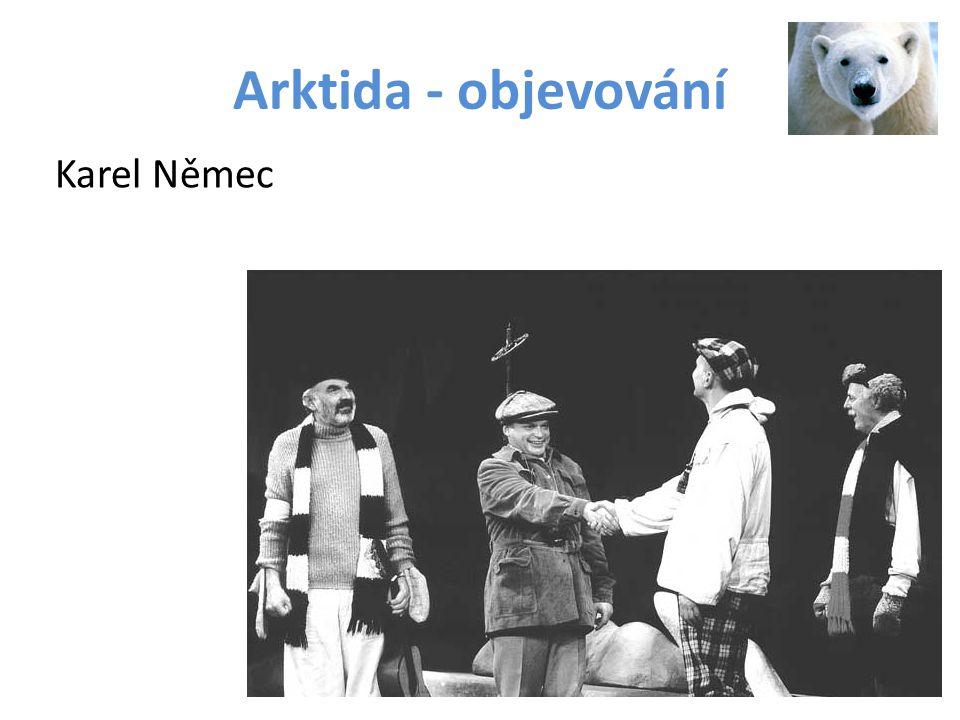 Arktida - objevování Karel Němec