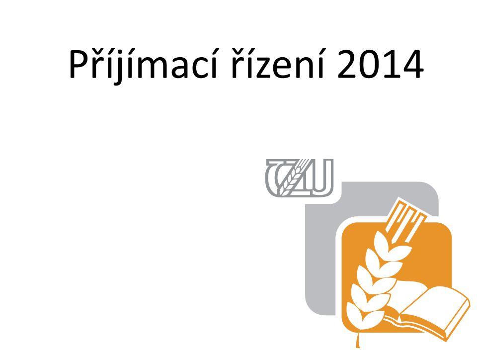 Příjímací řízení 2014