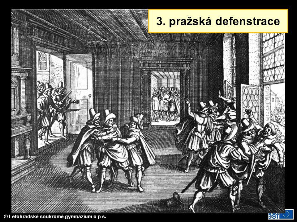 © Letohradské soukromé gymnázium o.p.s. Místa odchodů exulantů