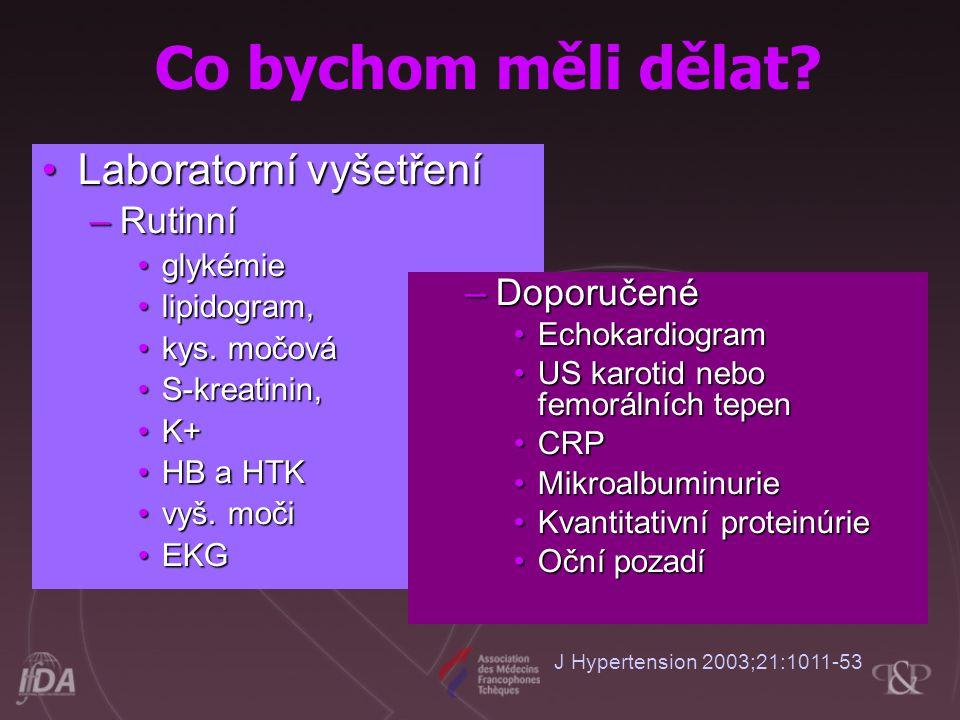 Laboratorní vyšetřeníLaboratorní vyšetření –Rutinní glykémieglykémie lipidogram,lipidogram, kys.
