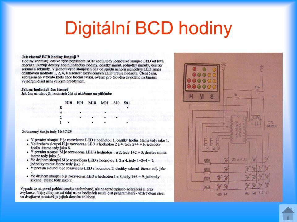 Digitální BCD hodiny