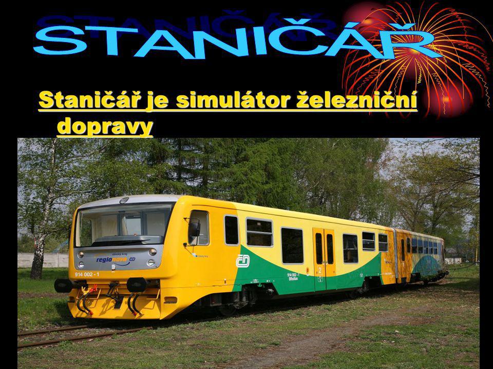 Staničář je simulátor železniční dopravy