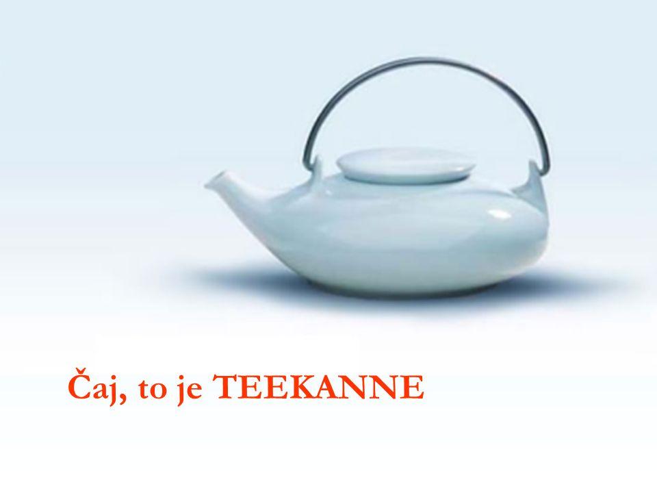 Čaj, to je TEEKANNE