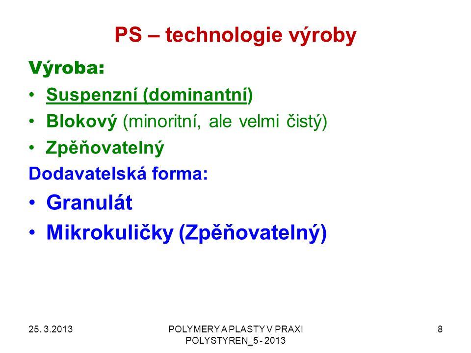 PS – technologie zpracování 25.