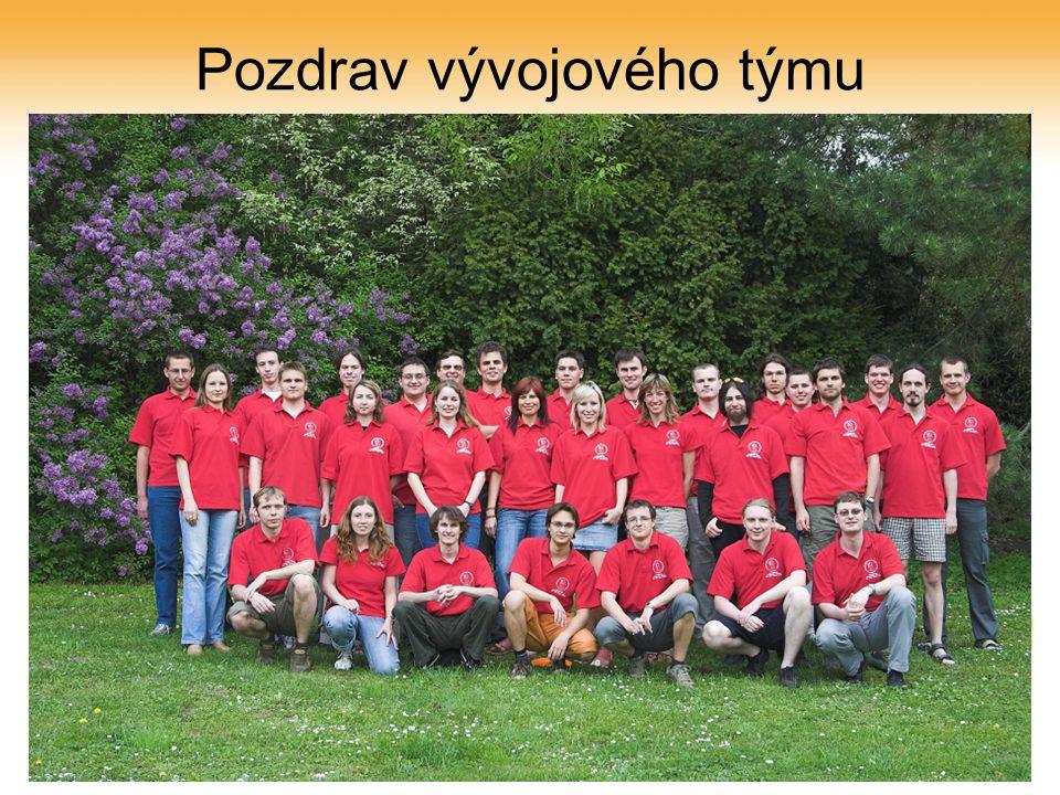 25. října 2006eVŠKP na MZLU v Brně, CPVŠK Olomouc28 Pozdrav vývojového týmu